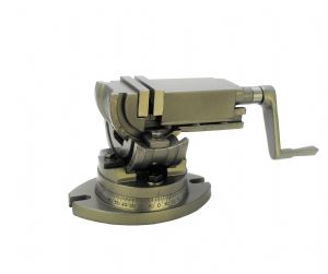 "2""/ 50mm Jaw Width 3 Way Swivel Tilt Angle Milling Machine Vice. H4413"